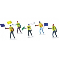 Carrera 21115 Flag Marshalls (5 Figures)