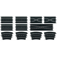 Carrera 26956 Track Extension Set 3 (12 Pieces)