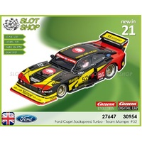 Carrera EVO 27647 Ford Capri Zackspeed Turbo - Team Mampe #52