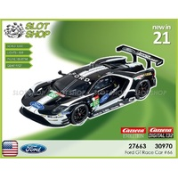 Carrera EVO 27663 Ford GT Race Car #66