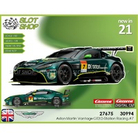 Carrera EVO 27675 Aston Martin Vantage GT3 D-Station Racing, #7