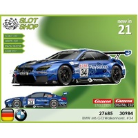 Carrera EVO 27685 BMW M6 GT3 Walkenhorst, #34