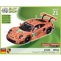 Carrera Digital 30964 Porsche 911 RSR Pink Pig Design, #92