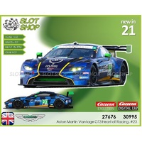 Carrera Digital 30995 Aston Martin Vantage GT3 Heart of Racing, #23