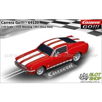 Carrera Go!!! 64120 Ford Mustang 1967 (Race Red)