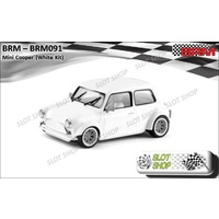 BRM 091 Mini Cooper White Kit
