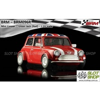 BRM 096R Mini Cooper (Red Union Jack)
