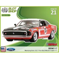 BRM117 Ford Mustang Boss 302 1969 Bud Moore Team #15