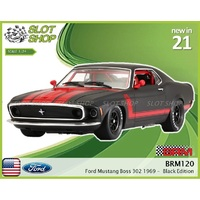 BRM119 Ford Mustang Boss 302 1969 - Black Edition