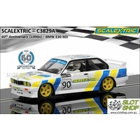 Scalextric C3829A 60th Anniversary (1990s) BMW E30 M3