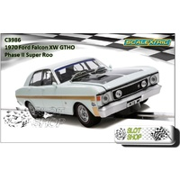 Scalextric C3986 Ford Falcon XW Road Car (White)