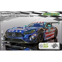 Scalextric C4023 Mercedes AMG GT3, Riley Motorsports Team