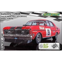 Scalextric C4028 Ford XY Falcon, ATCC 1973 Winner