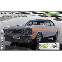 Scalextric C4037 Ford XW GTHO Falcon - Silver Fox