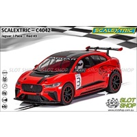 Scalextric C4042 Jaguar I-Pace - Red