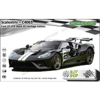 Scalextric C4063 Ford GT GTE Black No2 Heritage Edition