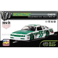 Scalextric C4079 - Chevrolet Monte Carlo - Green & White #55