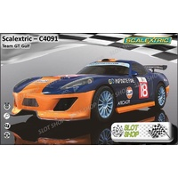 Scalextric C4091 Team LMP Gulf