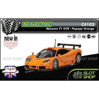 Scalextric C4102 - McLaren F1 GTR - Papaya Orange