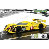 Scalextric C4112 Start Endurance Car – 'Lightninig'