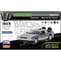 Scalextric C4117 - DeLorean - 'Back to the Future'