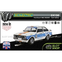 Scalextric C4150 - Ford Escort MK2 RS2000 - Gulf Edition