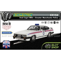 Scalextric C4153 - Ford Capri MK3 - Greater Manchester Police