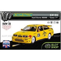 Scalextric C4155 - Ford Sierra RS500 - 'Came 1st'