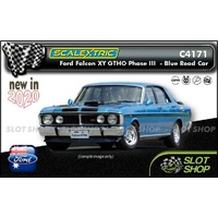 Scalextric C4171 - Ford Falcon XY GTHO Phase III - Blue Road Car