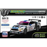 Scalextric C4173 - Ford Mustang GT4 - British GT 2019 - Multimatic Motorsports