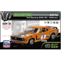 Scalextric C4176 - Ford Mustang Boss 302 - Martin Birrane
