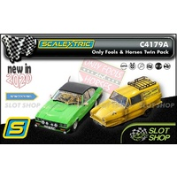 Scalextric C4179A - Only Fools And Horses Twin Pack