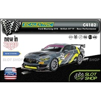 Scalextric C4182 - Ford Mustang GT4 - British GT 2019 - RACE Performance