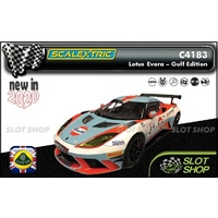 Scalextric C4183 - Lotus Evora - Gulf Edition