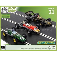 Scalextric C4184A - The Genius of Colin Chapman - Lotus F1 Triple Pack