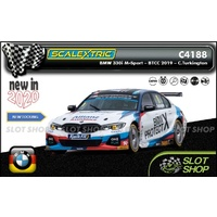 Scalextric C4188 - BMW 330I M-Sport - BTCC 2019 - Colin Turkington
