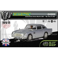 Scalextric C4202 - James Bond Aston Martin DB5 'No Time To Die'