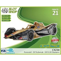 C4230 Formula E - DS Techeetah - Antonio Felix Da Costa 2019-2020 Champion