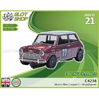 C4238 Morris Mini Cooper S - Broadspeed