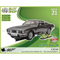 4239 James Bond Aston Martin V8 - The Living Daylights