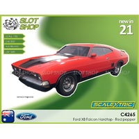 Scalextric C4265  Ford XB Falcon Hardtop - Red Pepper