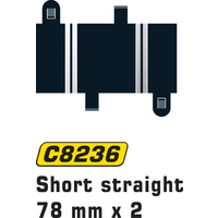 Scalextric C8236 Short Straights