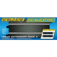 Scalextric C8526 Extension Pack 4 (4 x Straights)
