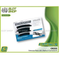 Scalextric C8555 Extension Pack 6 (8 x R3 Curves)