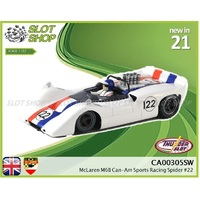 Thunderslot CA00305SW - McLaren M6B CanAm Sports Racing Spider