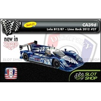 Slot.it CA39d Lola B12/87 - Lime Rock 2012 #27