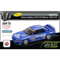 Slot.it CA47b Nissan Skyline GT-R JTC Winner 1993 #12