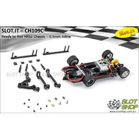 Slot.it CH109d Ready to Run HRS2 Chassis (0.5mm Inline)