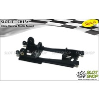 Slot.it CH13c Motor Mount (Inline Reverse - 0.0mm Offset)
