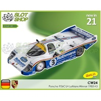 Slot.it CW24 Porsche 956C LH Le Mans Winner 1983 #3